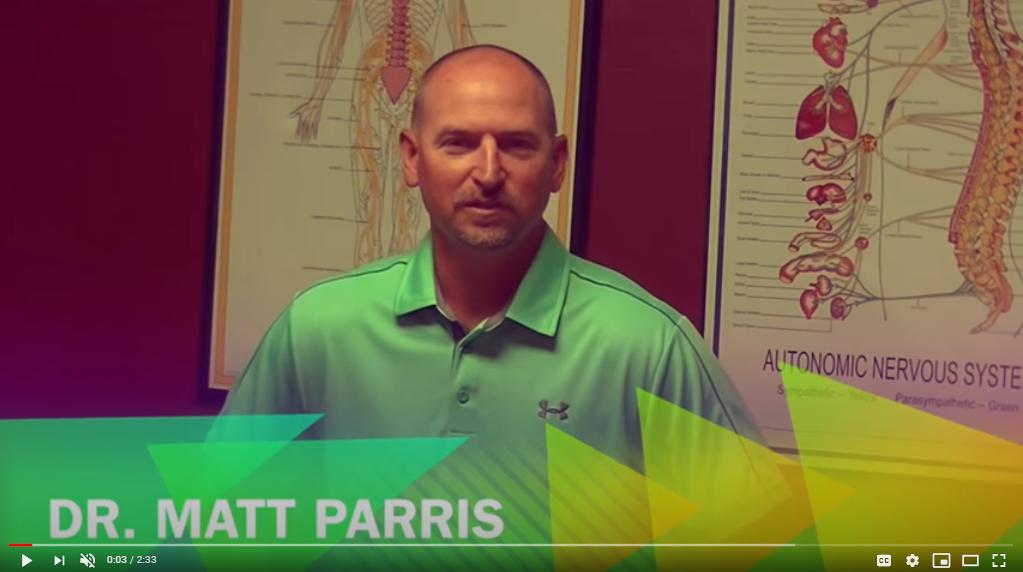 Chiropractor Vero Beach FL Matthew Parris